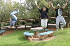 Allen Glen High School top achievers Aveshen Govender, Ashleigh Maistry and Aaron Padiachy celebrate their Matric results. Hard Work And Dedication, High School, Projects To Try, Top, Secondary School, Crop Tee, Middle School