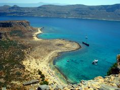 Balos Bay Gramvousa Crete Greek Islands