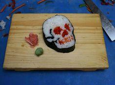 Halloween Food. Halloween sushi!!!