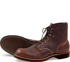 Red Wing Iron Ranger 8111. to get from A to B to C to D to E to
