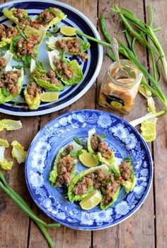 : Spicy Beef Lettuce Wraps