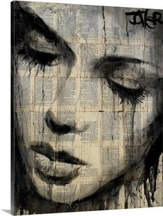 Loui Jover Premium Thick-Wrap Canvas Wall Art Print entitled Arrows, None
