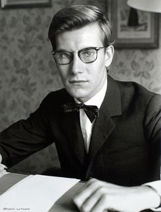 イヴ・サンローラン(Yves Saint Laurent)  ©Photo12 - Luc Founol