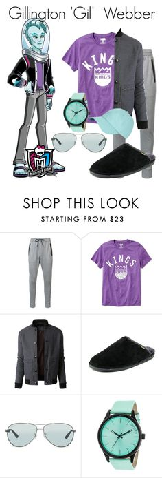 """""""Alphabet of Characters Challenge: 'G'"""" by cartoongirl ❤ liked on Polyvore featuring Zanerobe, Old Navy, LE3NO, Old Friend, Ray-Ban, Simplify, Brooks Brothers, men's fashion, menswear and AlphabetCharactersChallenge"""