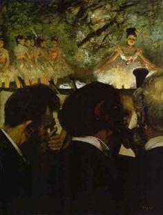 Orchestra Musicians. 1870-71. Oil on canvas. Stadtische Galerie im Stadelschen Kunsstinstitut, Frankfurt am Main, Germany.