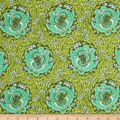 Amy Butler Violette Take Flight Jade from Designed by Amy Butler for Westminster, this cotton print fabric is perfect for quilting, apparel and home decor accents. Colors include jade green, olive, dark green and light blue. Amy Butler Fabric, Fabric Butterfly, Hello Kitty Wallpaper, Lace Print, Funny Tattoos, Wedding Art, Art And Architecture, Fabric Patterns, Wall Design