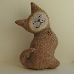 Maple Sugar Cat by Marjji @ Etsy - sooo cute!