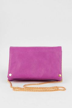 Pouch in Pouch Clutch in Fuchsia $36 at www.tobi.com