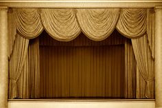 Stage Curtains and their Classification Stage Curtains, Types Of Curtains, Victorian Windows, Victorian Goth, Light Fest, Theatre Stage, Velvet Curtains, Window Styles, Scenic Design