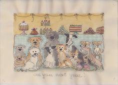 Cani in Cornice