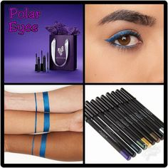 Younique Gift it to Me Day 6.  Polar Eyes Bundle.  Get the amazing 3D FiberLashes+ with any Moodstruck Precision Pencil including exclusive metallic blue color Polar!