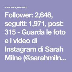 Follower: 2,648, seguiti: 1,971, post: 315 - Guarda le foto e i video di Instagram di Sarah Milne (@sarahmilnecreative) Elsa Pataky, Follower, The Good Place, Blog, Instagram, Photo And Video, Videos, 3, Anna
