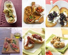EAT DRINK PRETTY: Crostini bar - I love this idea for a fun party appetizer station, gonna try it next weekend :)