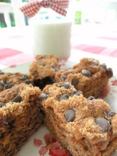 Chocolate Chip Applesauce Cake