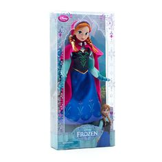 Anna From Frozen Doll