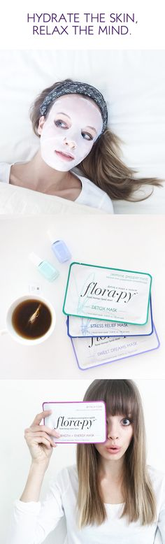 Discover the ultimate hydrating facial mask experience, infused with floral ingredients and aromatherapy. Designed in Los Angeles and made in Korea, Flora•py is flower therapy skincare created to hydrate the skin and relax the mind.