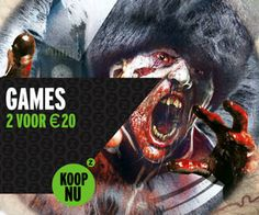 2 voor 20 euro op videospellen