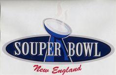 """New England """"Souper Bowl"""" logo"""