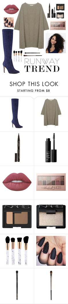 """""""Runway Trend"""" by berryhoney ❤ liked on Polyvore featuring Nine West, BLACK CRANE, Smith & Cult, NARS Cosmetics, Lime Crime, Maybelline, INIKA and Urban Decay"""
