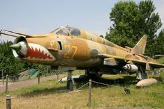 "Sukhoi Su-22M4 ""27"" #flickr #plane #1970s #CCCP"