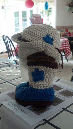 Ravelry  Boot Scoot n Cowboy Hat pattern by Elizabeth Alan  5c0d19dfe4f0