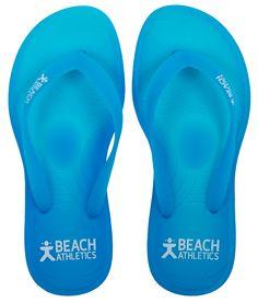 91063aa555d7 St Tropez Gel Flip Flops Turquoise