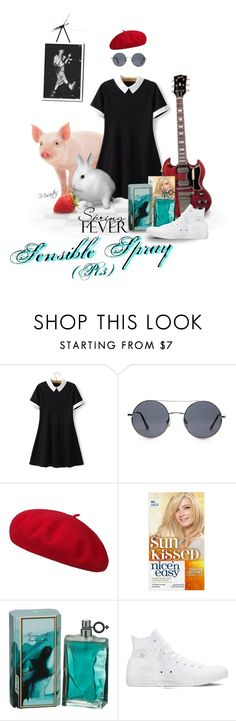 """""""Just Plain Sensible Spray! (You know it makes sense!)"""" by misartes ❤ liked on Polyvore featuring beauty, Chicsense, Forever 21, Converse, humor, humour, springscent, CaptainSensible, MensFashion and thedamned"""