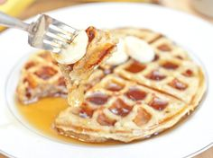 Banana Waffles Recipe on Yummly