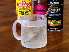 Vinegar and Honey Sore Throat and Cold Remedy