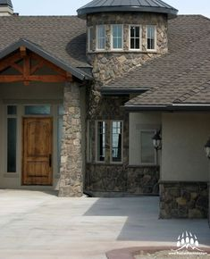 Beautiful custom home featuring our @gsharrisco Granite (Color: St. Andrews)  ----- www.KodiakMountain.com  ----- #KodiakMountainStone  #HomeBuilder #NewConstruction #CustomHome #contractor  #GeneralContractor #DreamHome #Luxury #LuxuryHome #Design Stone Gallery, Manufactured Stone, Granite Colors, St Andrews, New Construction, Home Builders, Custom Homes, Luxury Homes, Mountain