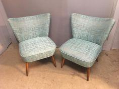 Recouverture de 2 fauteuils cocktails | Atelier Bacchetta