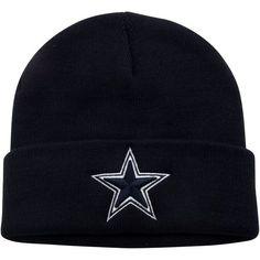 63c9a9aa0a6 Dallas Cowboys Youth Basic Cuffled Knit Hat - Navy Blue