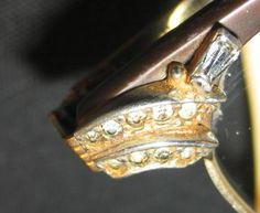 Vintage Jeweled Eye Glass Frames