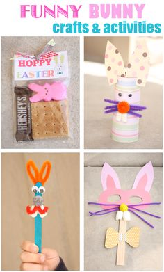 Easter crafts and activities for kids and families~