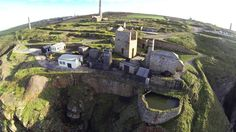 LEVANT MINE (30 December 2014) | Cornwall: Aerial view (pic. Keith Russ)     ✫ღ⊰n