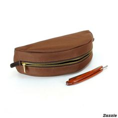 Personalized Taco Dopp Kit – Brown/Brown