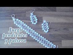 # DIY - Pendientes y pulsera a juego # DIY - Matching Earrings and Bracelet - YouTube