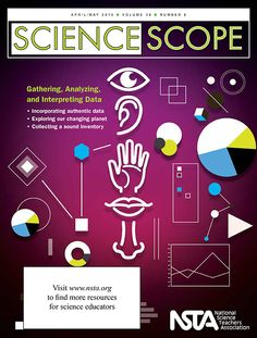 "The April/May issue of Science Scope is now available online! This month, we focus on Analyzing and Interpreting Data, one of the key science and engineering practices highlighted in the Next Generation Science Standards. Be sure to also check out the free article, ""Exploring Sound! Using Tablets in Middle School Science"": http://www.nsta.org/store/product_detail.aspx?id=10.2505/4/ss15_038_08_18"