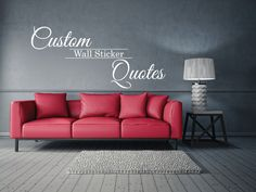 custom wall sticker quote removable decals personal designs word u0026 sayings