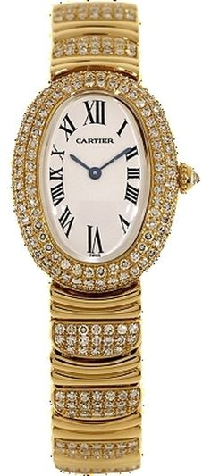 Cartier Baignoire 18k YG& Diamond Ladies Watch WB5004ES. Get the lowest price on Cartier Baignoire 18k YG& Diamond Ladies Watch WB5004ES and other fabulous designer clothing and accessories! Shop Tradesy now