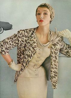 Vogue 1953 - Is this not the greatest suit???