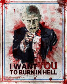 I want you! by Rich Johnson  Starting at $15.95 <---I really REALLY want this. Hell Raiser was the scariest sh•t in the world to me when I was a prepube!