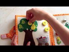Quiet Book - ručne šitá kniha pre deti plná zábavy | DIY nápady