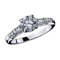 La Courtisane, or blanc et diamants - Mauboussin