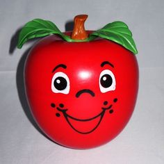 happy apple--was my favorite toy when I was a wee one.