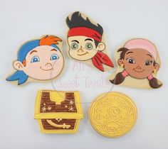 Jake & the Neverland Pirate Cookies
