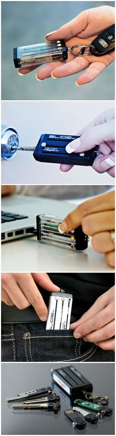 Keyport Slide 2.0 provides one-handed access to your most important keys & everyday carry tools that you'll actually use every day, several times a day.