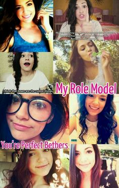 Hey Beth(: I made this edit for you! Hope you like it. I just wanted to say that you're my role model and inspiration. I love watching your videos. You are so gorgeous and completely flawless. I hope to meet you one day!(: Xxx (please help me get this to Beth! But please don't take credit.) @Bethany Shoda Mota
