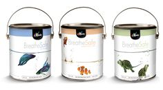 BreatheSafe offers premium quality without the odor so you can breath easy! All a great affordable price! Clever Packaging, Brand Packaging, Painting Accessories, Paint Buckets, Paint Brands, Painted Pots, Tambour, Cool Paintings, Packaging Design Inspiration
