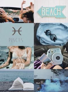 Zodiacs: Pisces aesthetic ♓️ My edit | Pictures are not mine.